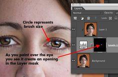 Sharpen Eyes - This Photoshop Elements Tutorial Will Make Them Sparkle
