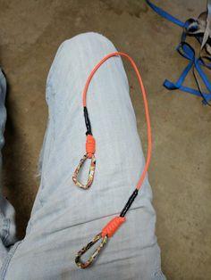 Para cord kayak tether