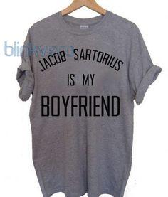 jacob sartorius is my boyfriend, jacob sartorius merch 10 unisex tshirt //Price: $10 & FREE Shipping //     #shirts