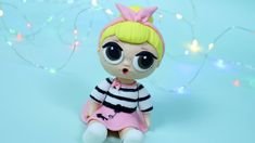 LOL Surprise Cake! How to make LOL Surprise Doll cake topper / DIY Sis S...