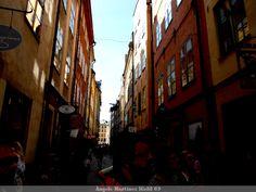 Callejeando por Estocolmo (Suecia)  Casco antiguo