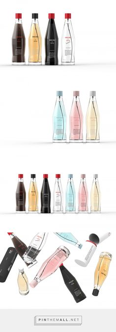Concept: Coca-Cola Le Parfum — The Dieline - Branding & Packaging - created via http://pinthemall.net