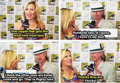 Robert Carlyle is captain of the Rumbelle ship your argument is invalid
