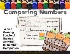 Comparing Numbers Craftivity by Pam D'Alessandro This is an activity that can be used for students to practice comparing numbers. It makes a nice finished product to display. Please feel free to use the Q&A section to let me know what you would
