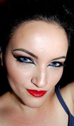 Catwoman Eyes | Halloween | Pinterest | Catwoman makeup, Catwoman ...