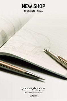 base Pininfarina Segno Cuban matita infinita punta Ethergraf legno tabacco
