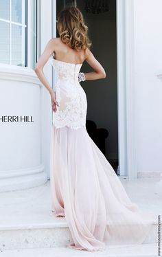 The stylish silhouettes and high end materials of Sherri Hill dresses stand out at prom, homecoming, or any other formal event. Sherri Hill Wedding Dresses, Dress Stand, Evening Dresses, Formal Dresses, Winter Formal, Fitted Bodice, One Shoulder Wedding Dress, Bridesmaid, Gowns