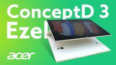Acer ConceptD 3 Ezel – Un laptop pentru artiști