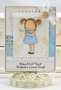 Pure Innocence Make a Wish; Insert It - 3x4 Notepad Die-namics; Dotted Scallop Border Trio Die-namics - Mona Pendleton