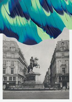 Souvenirs de Paris by Leslie David