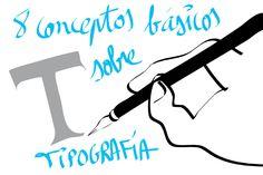 8 conceptos básicos de tipografía web Concept