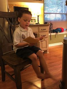 """I've talked several times about how Mason likes to operate on his own timetable that we lovingly refer to as """"Mason-Time"""" :) I've also talked about how his perfectionist tendencies sometimes keep him"""
