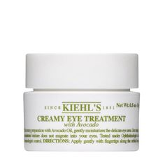 Creamy Eye Treatment with Avocado  A Kiehl's classic for a burst of hydration to the eye area.