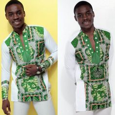 The culture within.and without threaded culture african men fashion, afric African Attire For Men, African Print Fashion, African Wear, African Women, African Dress, African Style, African Print Shirt, African Shirts, African Clothes