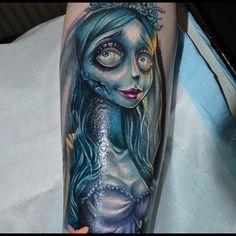 Corpse bride tattoo design tattoo love pinterest corpse bride