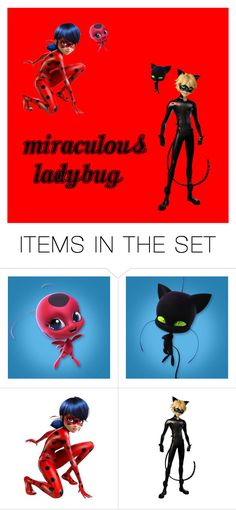 """""""Miraculous Ladybug!!!!"""" by natalie8332 ❤ liked on Polyvore featuring art"""