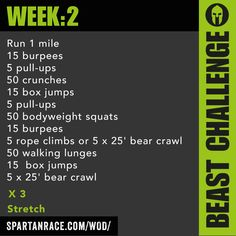 Challenge: Beast Mode 1.2 « Workout of the Day