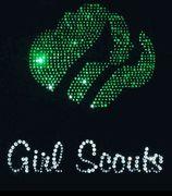 Girl Scouts Rhinestone Design