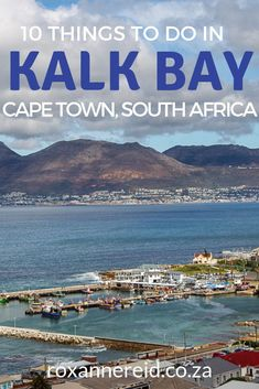Want to visit the fishing village of Kalk Bay? Here's my pick of 10 things to do in Kalk Bay, Cape Town. Africa Destinations, Travel Destinations, Stuff To Do, Things To Do, Slow Travel, Fishing Villages, Africa Travel, Cape Town, South Africa