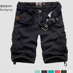 $21.84    Stylish Casual Military Short Pocket Pockets Pants Trousers Shorts For Men Boys