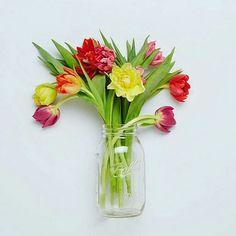 "Love fresh flowers.  @Regrann from @freshdirect - ""The earth laughs in flowers.""  Ralph Waldo Emerson  #quote #inspirational #inspirationalquote #flowers #pretty #spring #aprilshowers #april #sundayfeeling #Regrann by doc_asha"