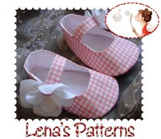 Easy. Baby Shoes. Sewing pattern. PDF. Printable. tutorial. newborn to 24 months. Magnolia Mary Janes. $4.50, via Etsy.