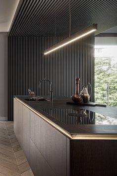 Interior Concept, Closet Bedroom, Modern Kitchen Design, Bathroom Interior Design, Wall Wallpaper, Kitchens, House, Furniture, Home Decor