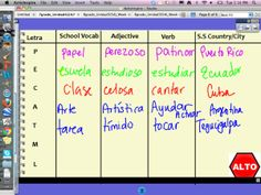 Learn Spanish For Kids English Learning Spanish For Kids, Spanish Games, Teaching Spanish, Fun Learning, Learn Spanish, Class Routine, Teacher Sites, Middle School Spanish, Class Games