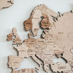 #Etsy #MapLiving #MapTravelModernRustic #RoomWoodenBig #World Wooden Map, Wooden Decor, Wood Napkin Holder, Handmade Lamps, Gifts For Readers, Wall Maps, Us Map, Book Lovers Gifts, Travel Gifts
