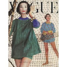#throwbackthursday the cover of Vogue's July 1956 issue #tbt  via BRITISH VOGUE MAGAZINE OFFICIAL INSTAGRAM - Fashion Campaigns  Haute Couture  Advertising  Editorial Photography  Magazine Cover Designs  Supermodels  Runway Models