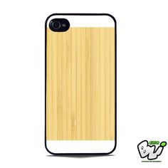 Grainy Bamboo Wood iPhone 5 | iPhone 5S Case