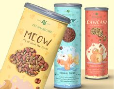 Food Packaging Design, Pet Food, Graphic Design Illustration, Graphic Design Inspiration, Supreme, Boss, Behance, Organic, Cat