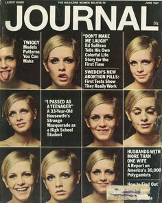 Many faces of Twiggy