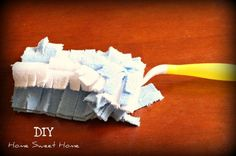 make your own swiffer duster