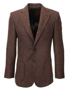 FLATSEVEN Mens Herringbone Wool Blazer Jacket with Elbow Patches (BJ902) Brown, S FLATSEVEN http://www.amazon.com/dp/B00HLGG3HA/ref=cm_sw_r_pi_dp_PifFub0FYTKPX #BLACKFRIDAY #CYBERMONDAY #MENS CLOTHING #MENS CLOTHES #MENS JACKET #MENS BLAZER #MENS CASUAL JACKET #MENS FASHION #FASHION FOR MEN #mens blazer mensclothing #mens fashion blazer jacket