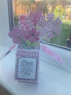 Craftwork cards pop up card