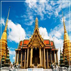 Wat Phra Kaew - Grand Palace Bangkok  #turismo #viagem #viajar #bankok #tailandia #tailândia #asia #templo #budismo #tailandiaviagem #culturatailandesa