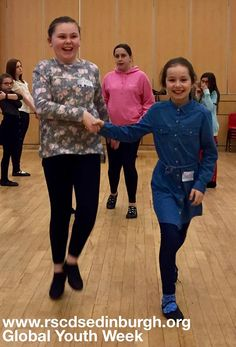 RSCDS Edinburgh Branch submitted this energetic picture for Global Youth Week 2017! #kids #happy #scottishcountrydancing #SCD #dance #heritage #GYW #edinburgh