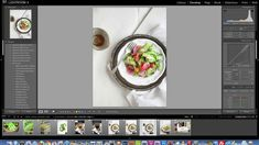 Food photography tutorial - Food styling - Tips and tricks - OPSD blog | A tutorial video covering local adjustments inside of Adobe Lightroom, for developing food photography shots.