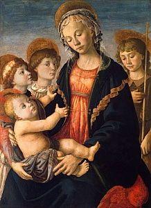 Sandro Botticelli Die Renaissance, Renaissance Kunst, Renaissance Paintings, Italian Renaissance, Sandro, Italian Painters, Italian Artist, Saint Jean Baptiste, Giorgio Vasari