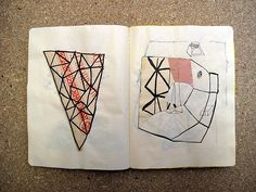 Various sketchbooks made between 2005 - 2010 by Craig Atkinson ✈, via Flickr