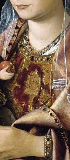 Antonello da Messina – Madonna Salting  #lmessina  #sicilia #sicily