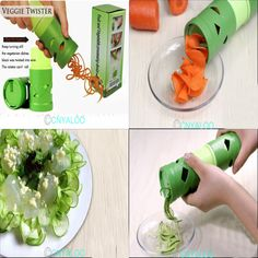 1pcs Vegetable Fruit Twister Slicer Cutter Device Kitchen Utensil Tool Processing 80049-in Shredders & Slicers from Home & Garden on Aliexpress.com