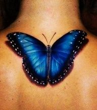 Love the butterfly, just slightly smaller and a different location