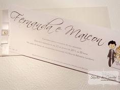 Convite Fernanda e Maycon