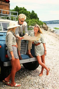 "Classy Girls Wear Pearls: Nautical Safari - ""Arrival to Camp Cove"""