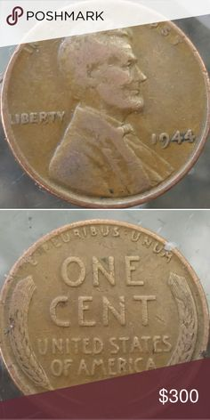 Lincon cent,Wheat 1944 lincoln eror coin double die in facoce and tie,L almost not showing fully in the word Liberty. lincoln wheat penny Other