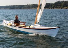 The Faering Cruiser is a serious rowing and sailing boat for coastal cruising Cruiser Boat, Cabin Cruiser, Liveaboard Boats, Wooden Sailboat, Small Sailboats, Plywood Boat Plans, Sailing Ships, Sailing Boat, Boat Projects