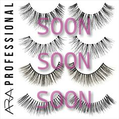 Eyelashes - soon on our online shop