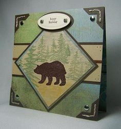 LSC224 Outdoor bear by DandI93 - Cards and Paper Crafts at Splitcoaststampers